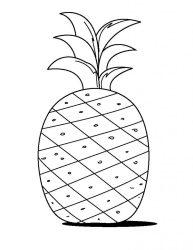 Simple Pineapple Template