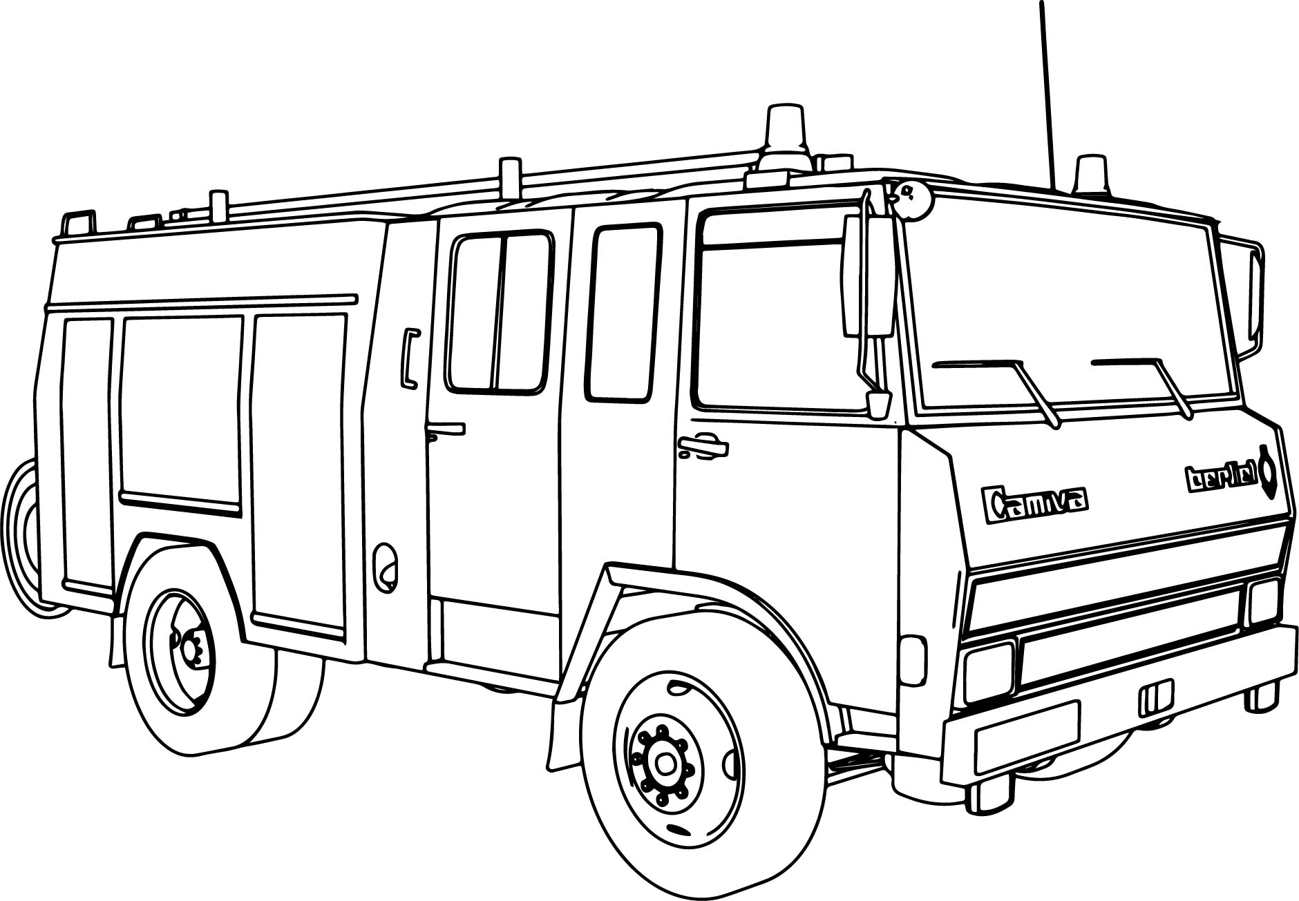 Easy Truck Drawing At Getdrawings