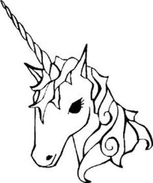 unicorn easy drawing inspiration getdrawings