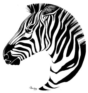 zebra drawing easy line zebras drawings face draw sketch africa coloring clipart pages cartoon penink clip advisors capital inside getdrawings