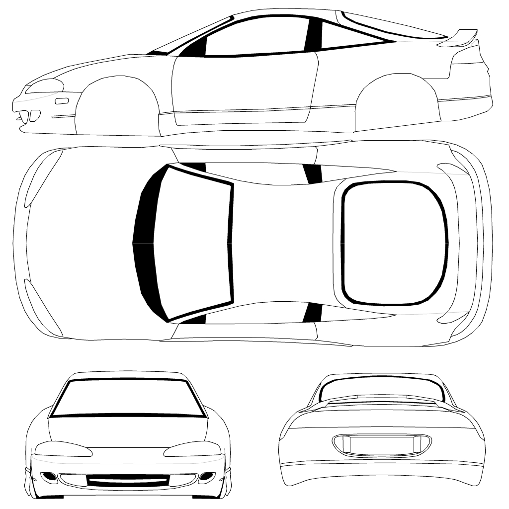 The best free Mitsubishi drawing images. Download from 75