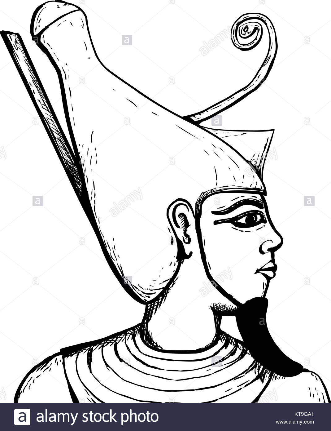 Egyptian Gods Drawing At Getdrawings