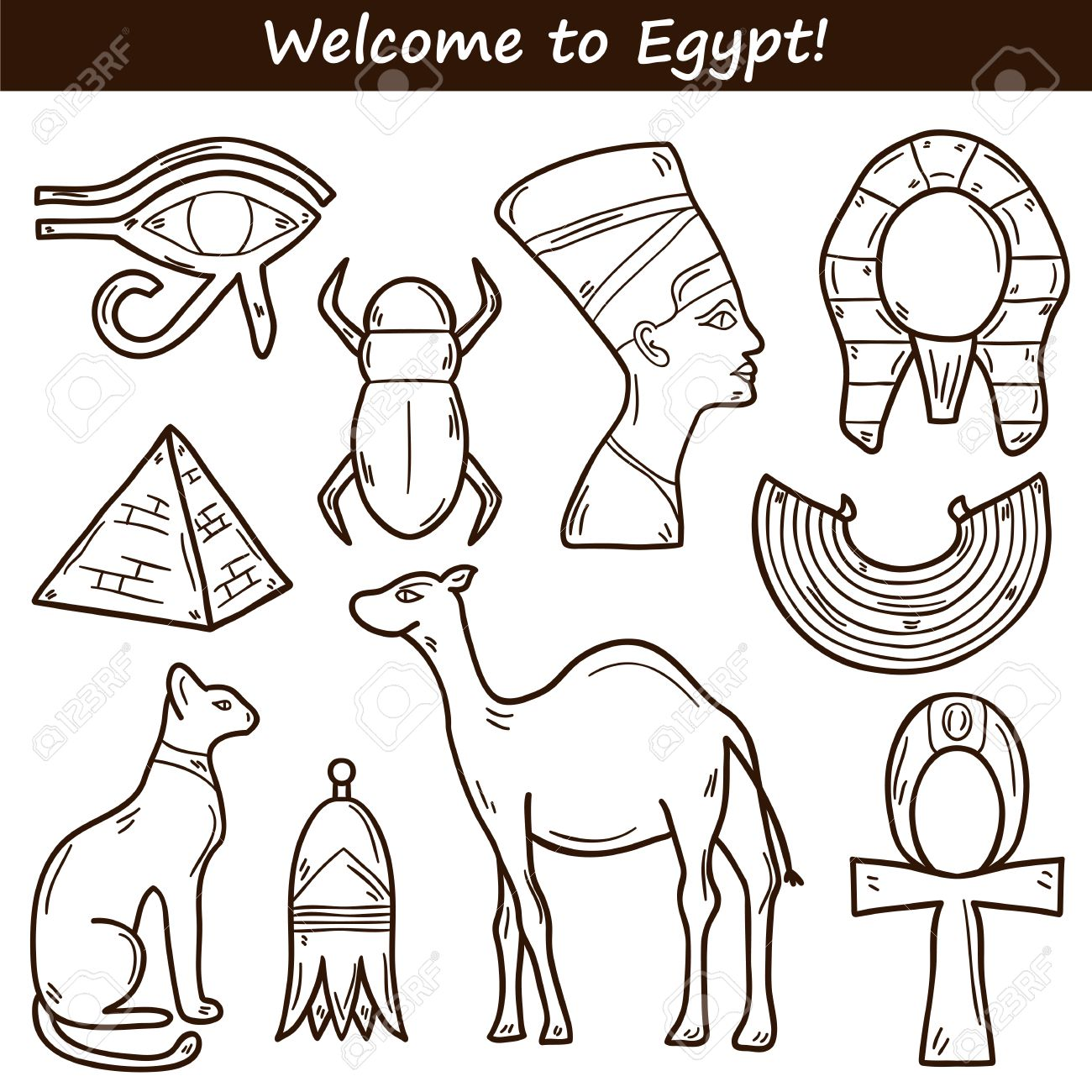 Egyptian Pyramids Drawing At Getdrawings