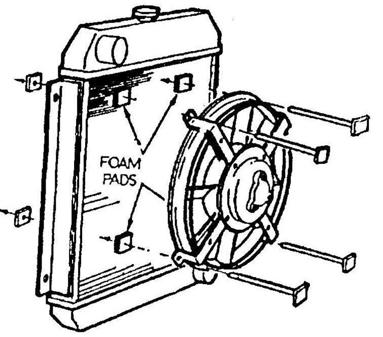 Electric Radiator Fan Schaltplang
