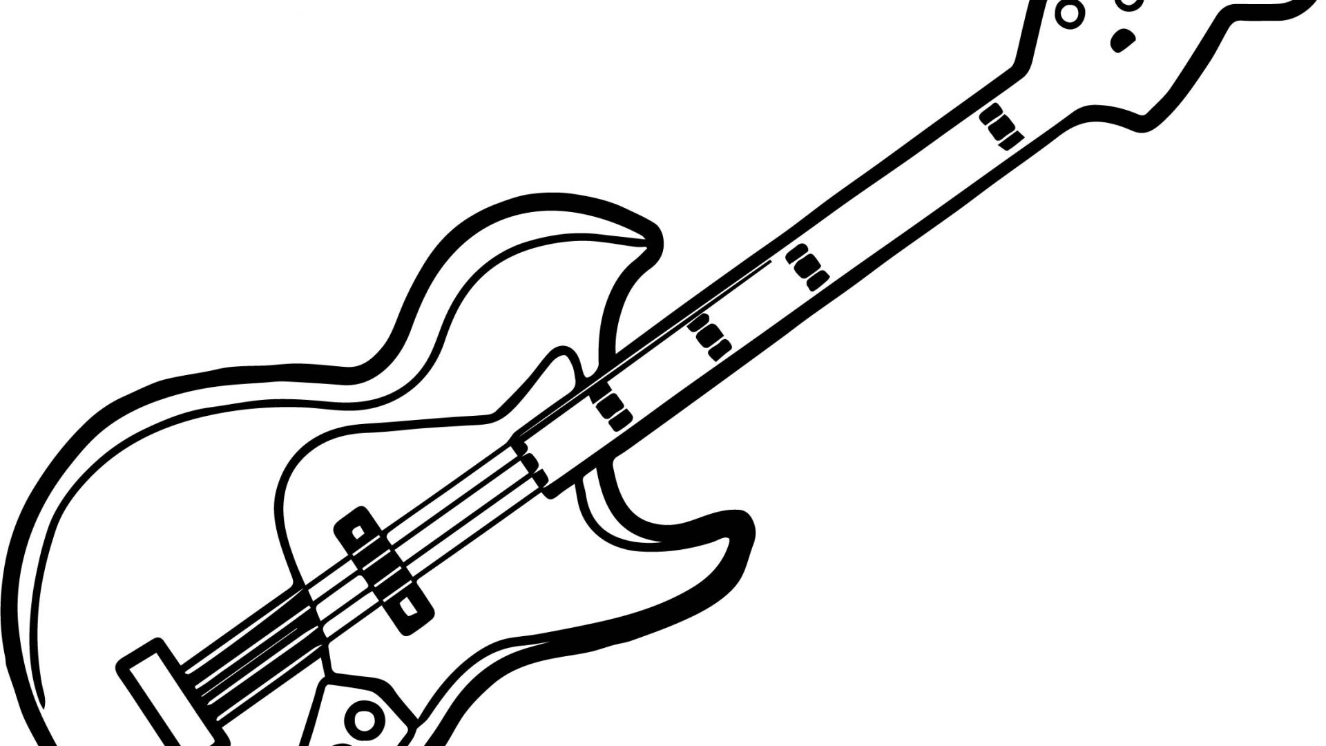 Electric Guitar Drawing At Getdrawings