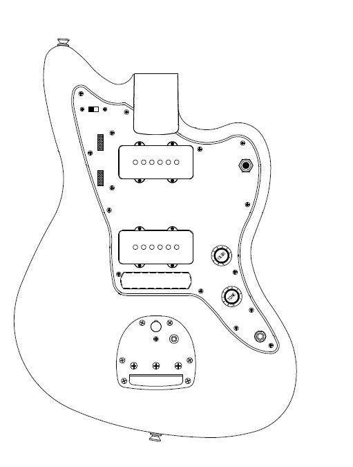 Free Download Les Paul Ledningsdiagram