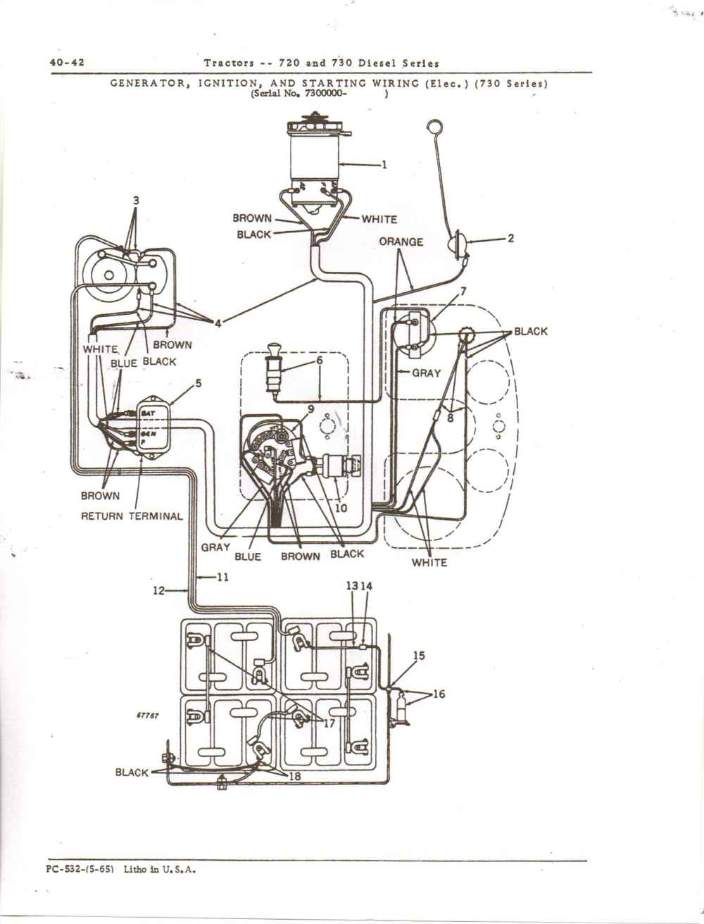 medium resolution of 1689x2216 electrical wiring john deere salvage tractor wiring diagram
