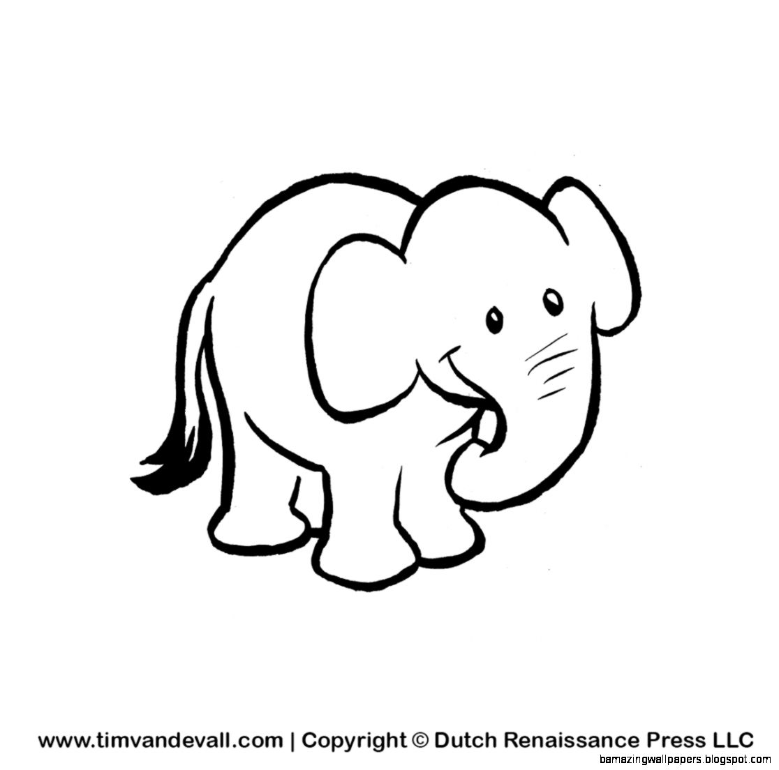 Elephant Drawing Cute At Getdrawings