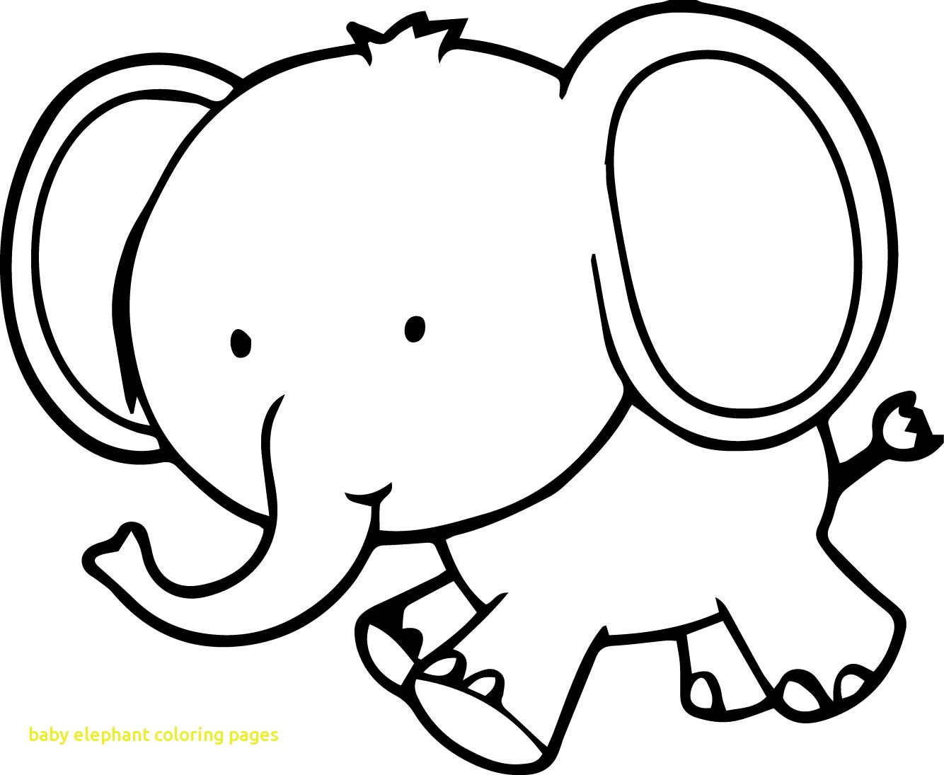 Elephant Drawing For Kids At Getdrawings