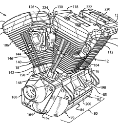 2277x1914 harley v twin engine diagram patent drawing recent photoshots so [ 2277 x 1914 Pixel ]
