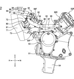2761x2196 honda v4 superbike engine outed in patent photos [ 2761 x 2196 Pixel ]