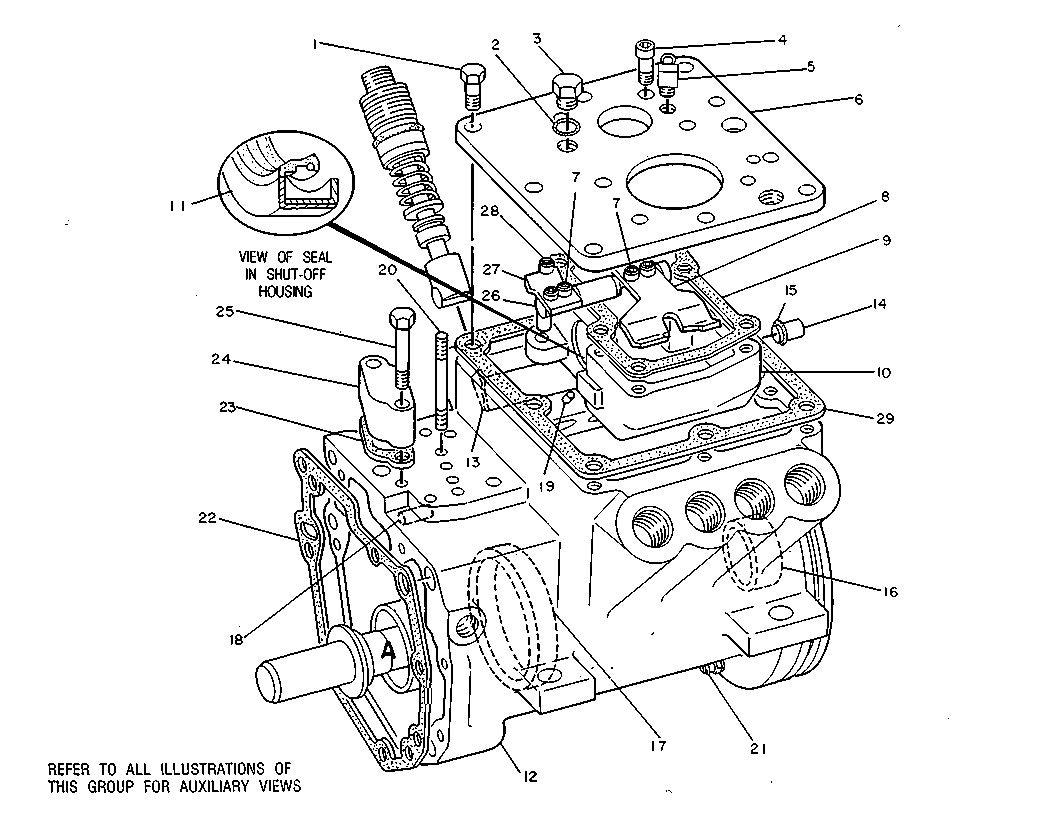 C12 Cat Engine Ecm Diagram