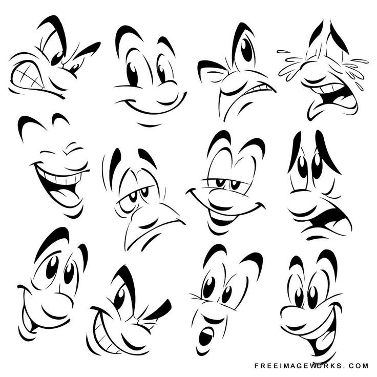 Happy Faces Drawing At Getdrawings Com