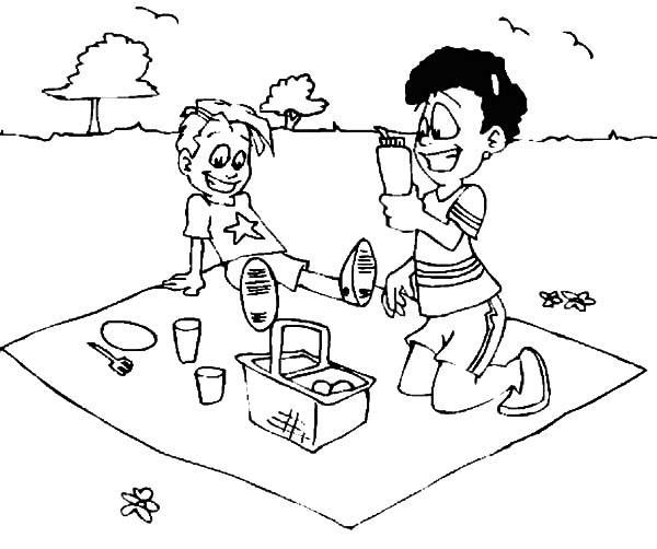 Summer Vacation Drawing At Getdrawings Com