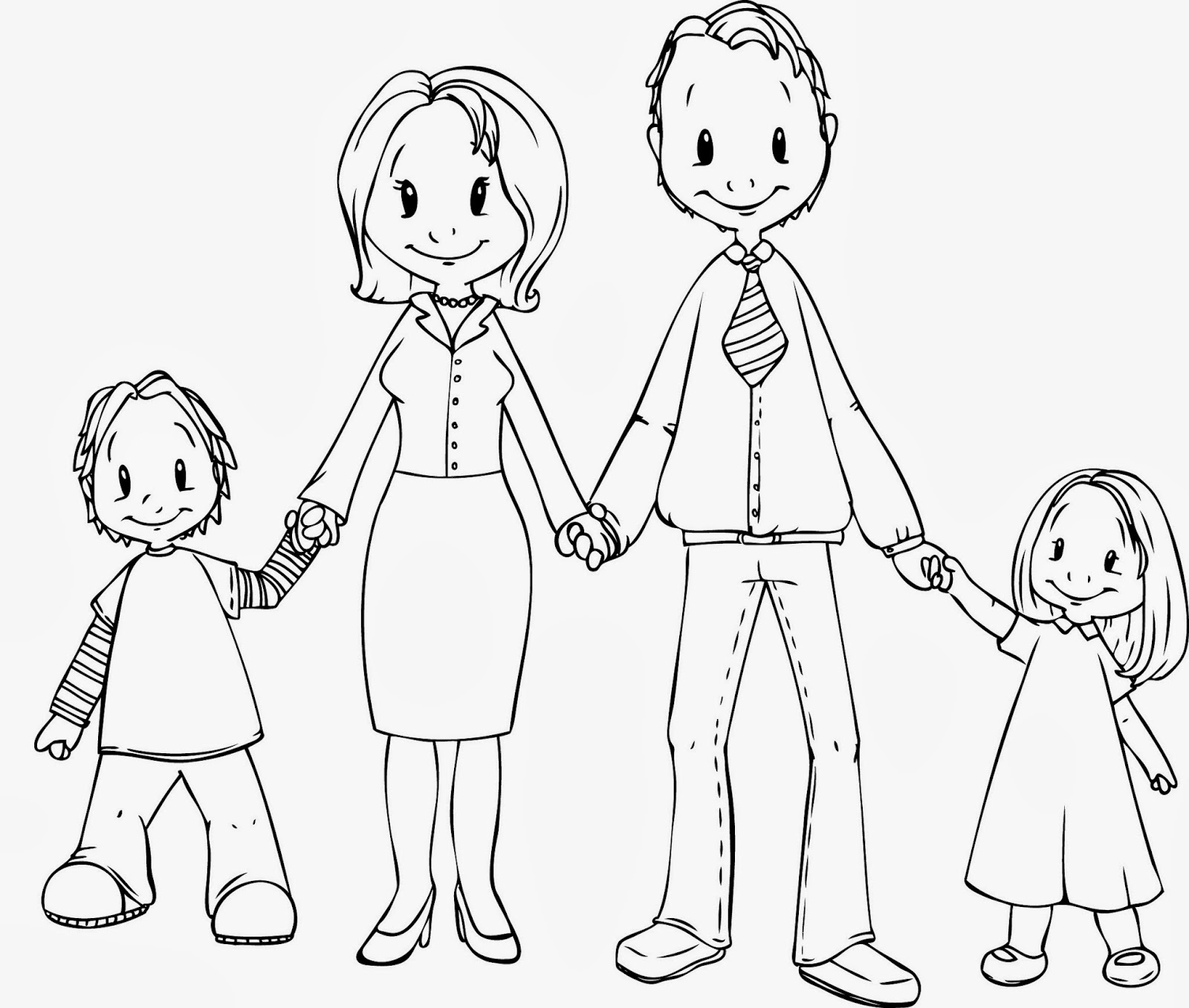 Family Pictures Drawing At Getdrawings