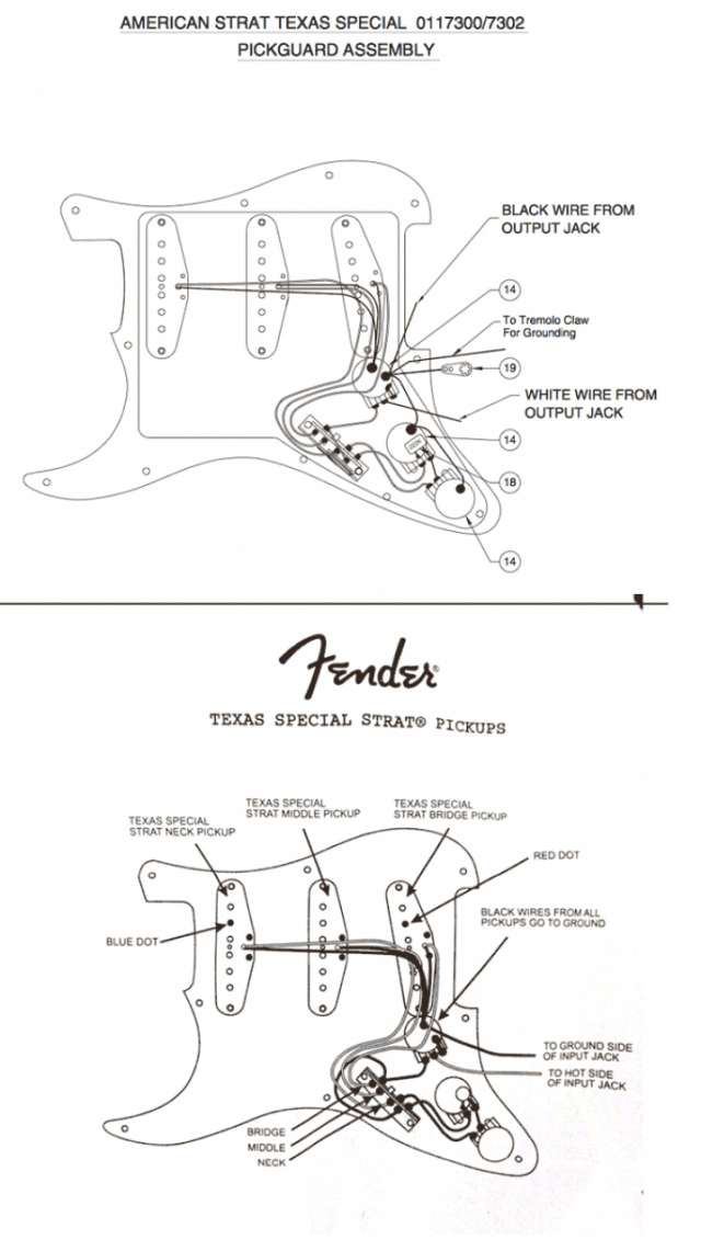 fender strat texas special wiring diagram  trusted wiring