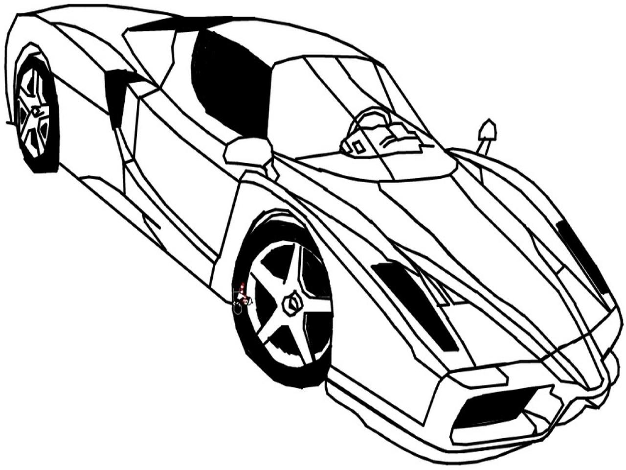 Ferrari drawing at getdrawings free for personal use ferrari