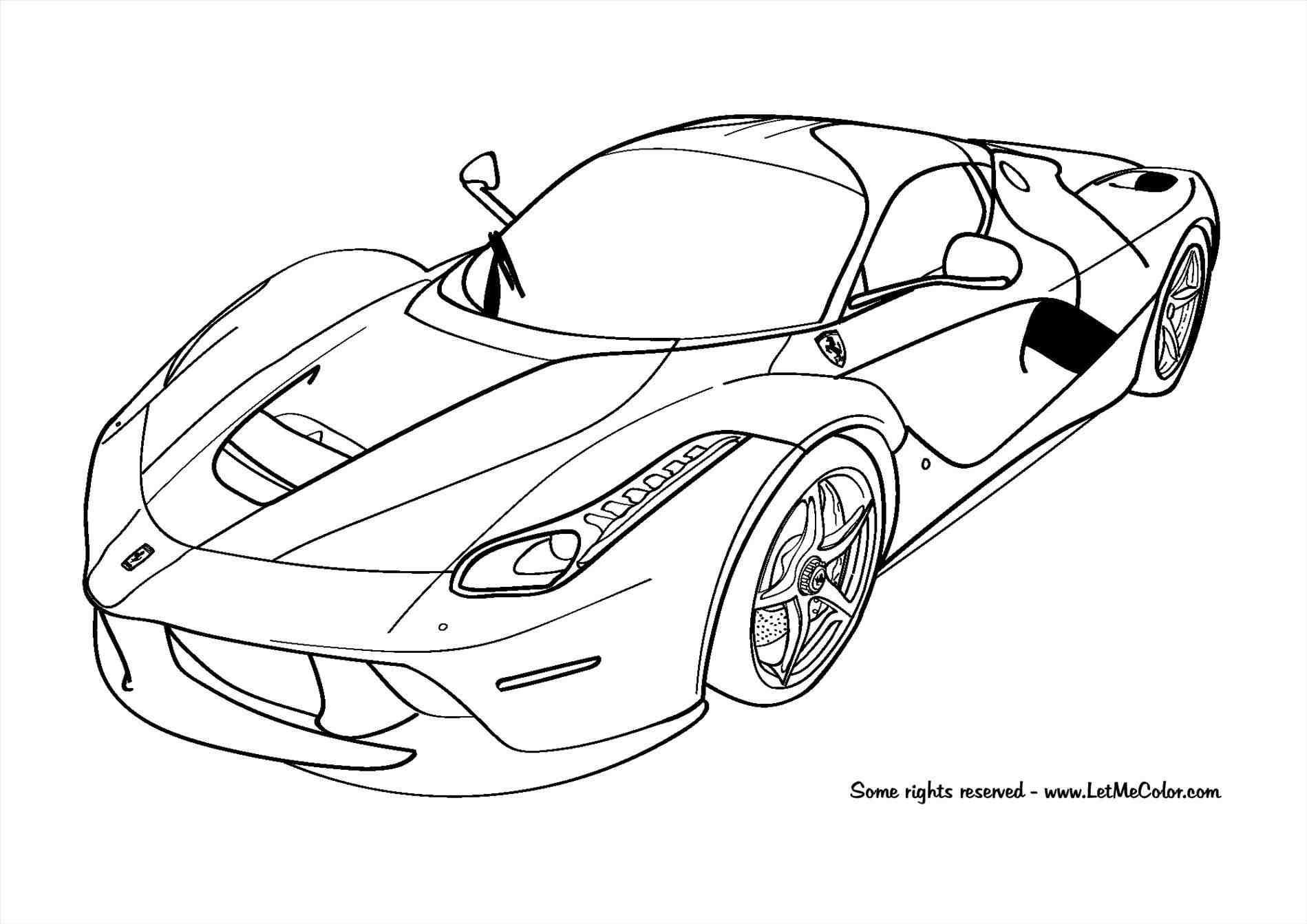 Ferrari Drawing At Getdrawings