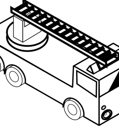 999x795 how to draw a fire truck clipart panda [ 999 x 795 Pixel ]
