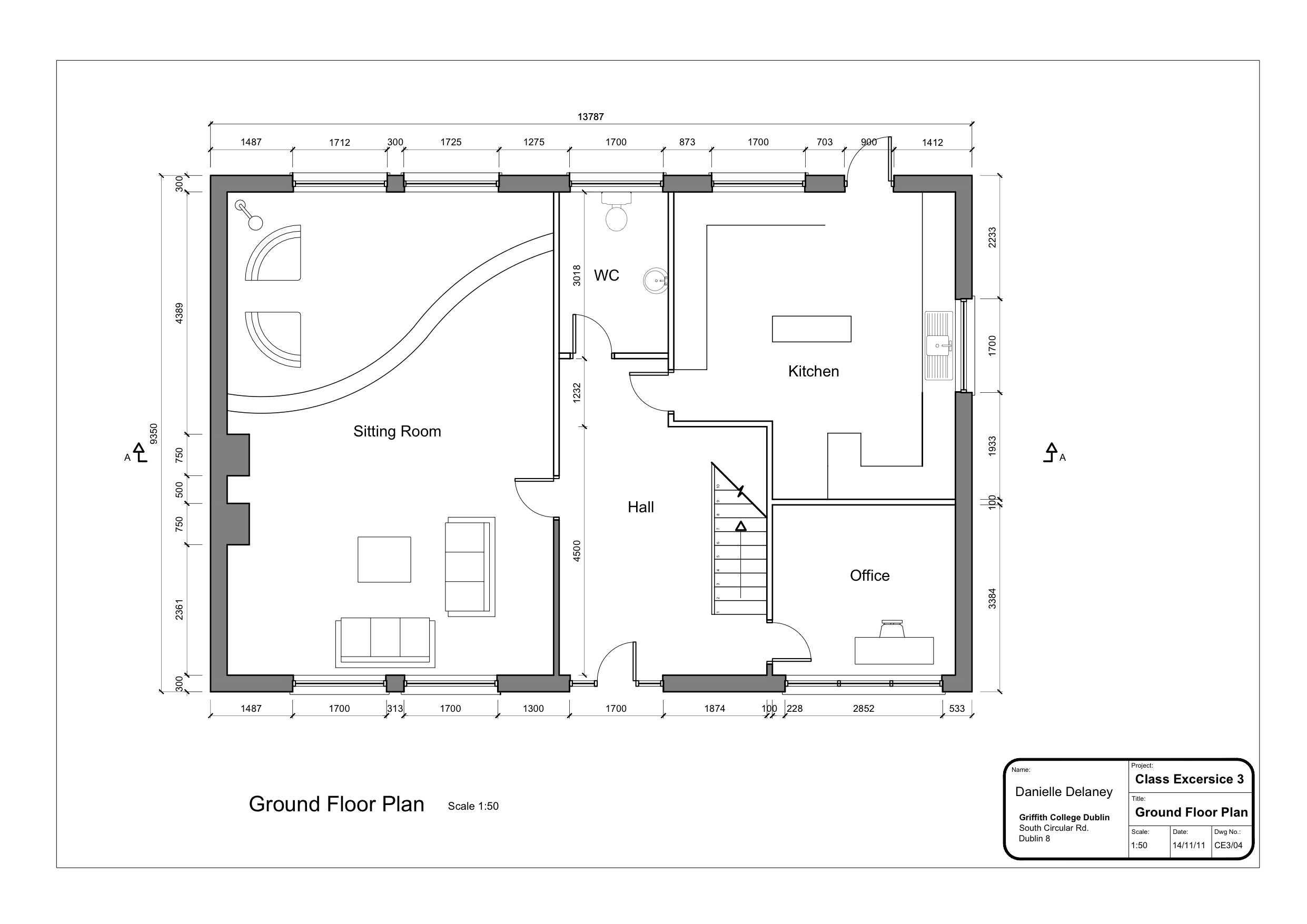 Floor Plan Drawing At Getdrawings