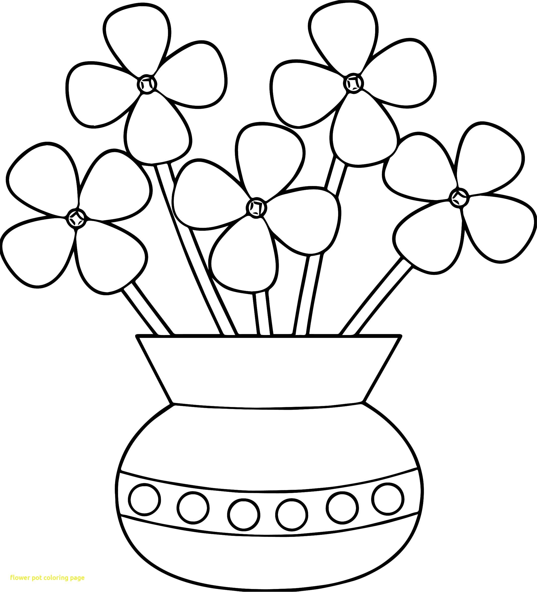 Flower pot clip art black and white mightylinksfo
