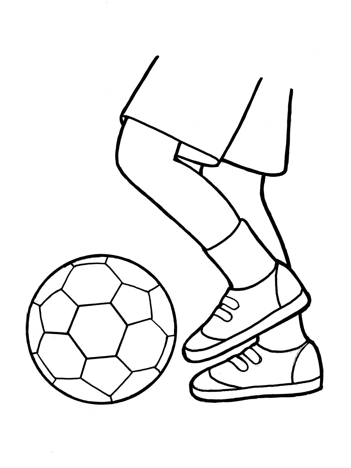 Football Ball Drawing At Getdrawings