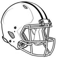 Football helmet template printable footballupdate paper football helmet template queen s university belfast maxwellsz