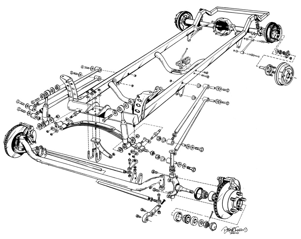 hight resolution of 1000x795 speedway deluxe 1927 ford model t bare frame assembly