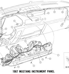 1500x764 1967 mustang wiring and vacuum diagrams [ 1500 x 764 Pixel ]