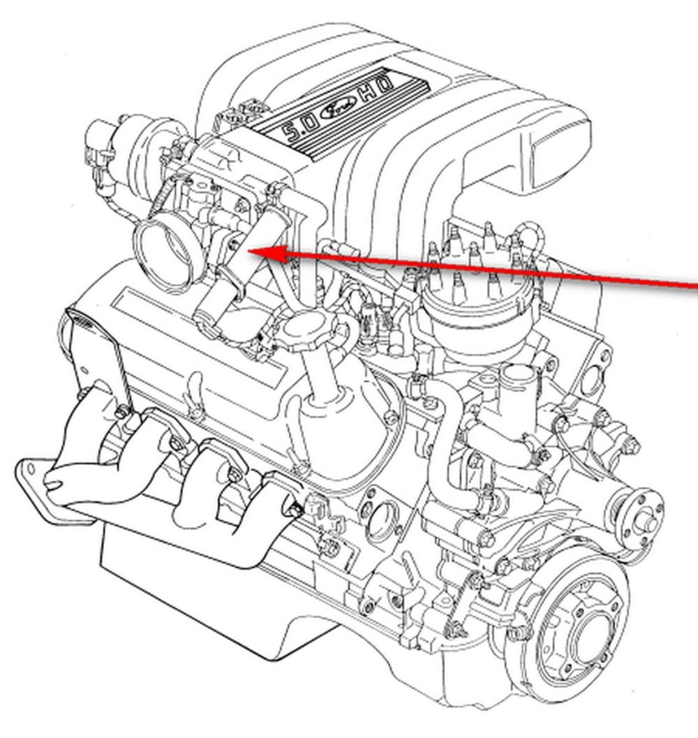 medium resolution of 1135x1200 87 ford mustang gt 5 0