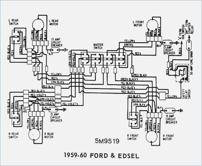 1959 Ford F100 Wiring Diagram