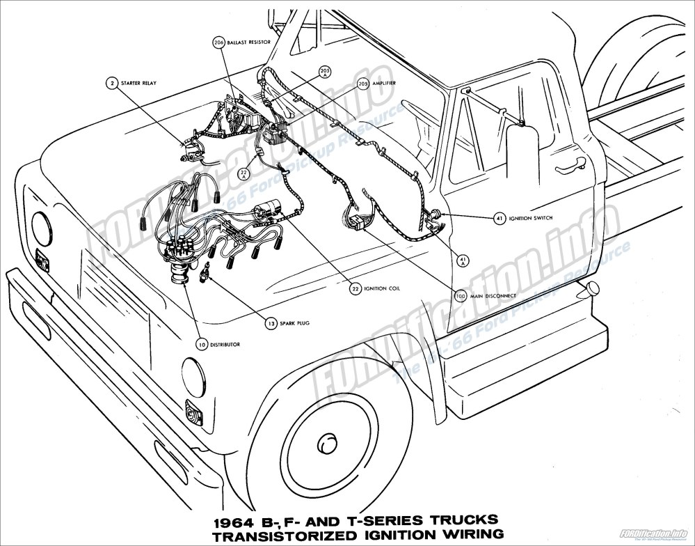 medium resolution of 2672x2096 1964 ford truck wiring diagrams