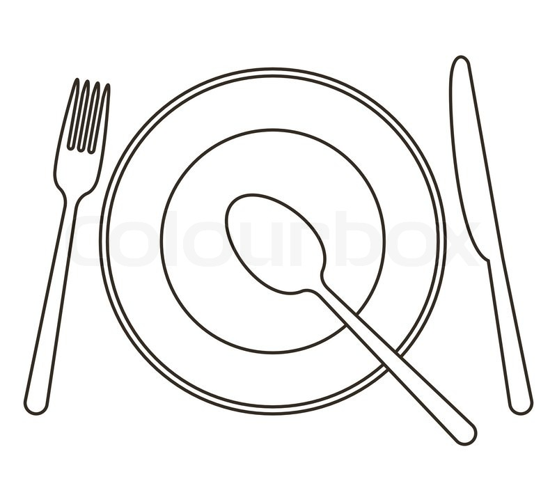 Plate Drawing At Getdrawings Com