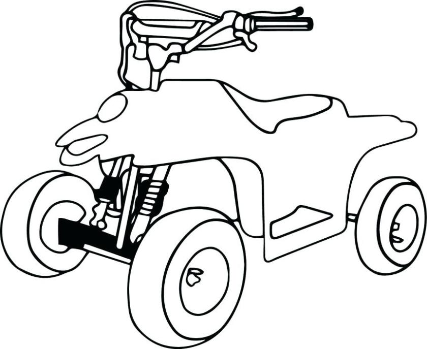 four wheeler drawing at getdrawings  free download