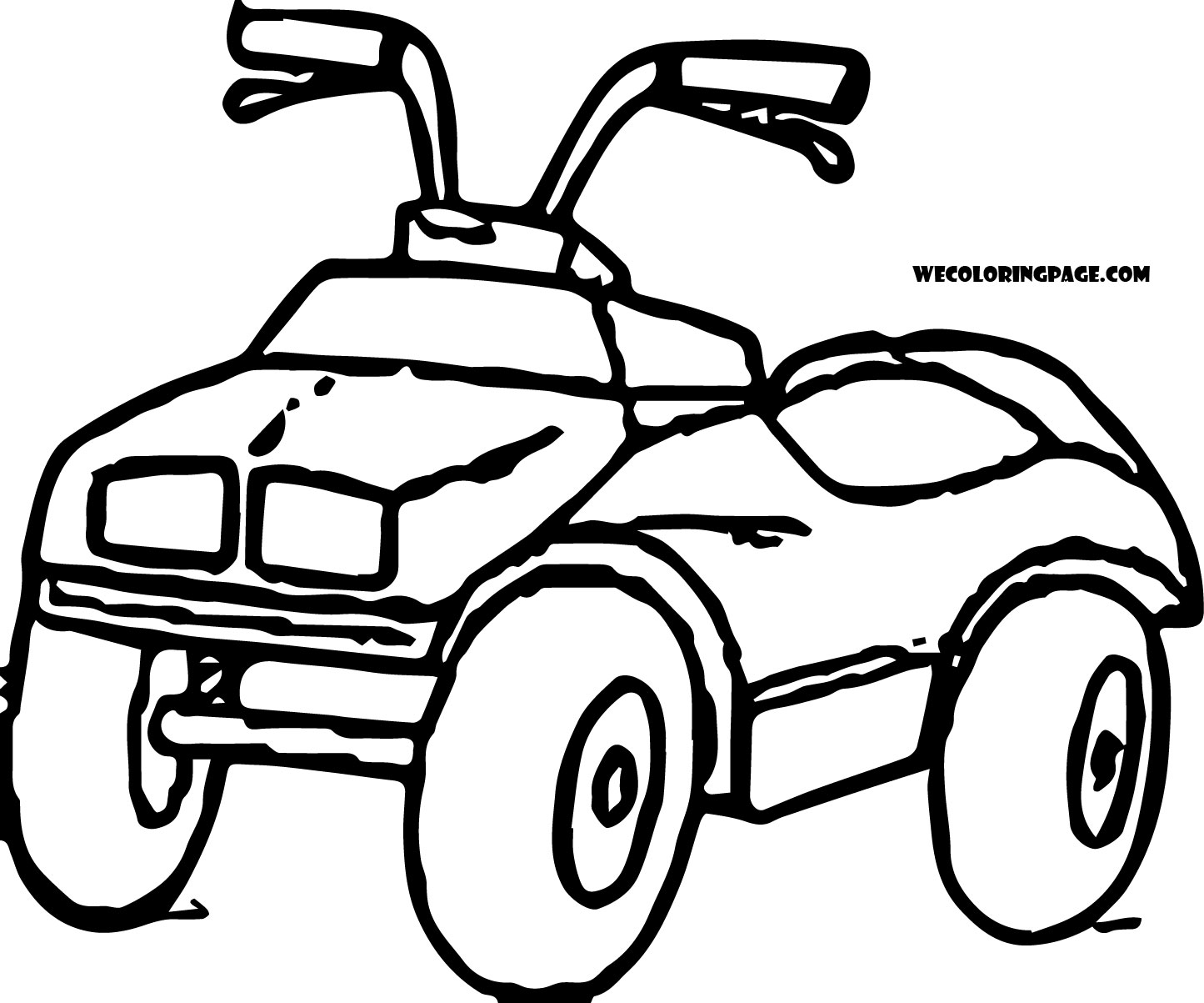 Four Wheelers Drawing At Getdrawings