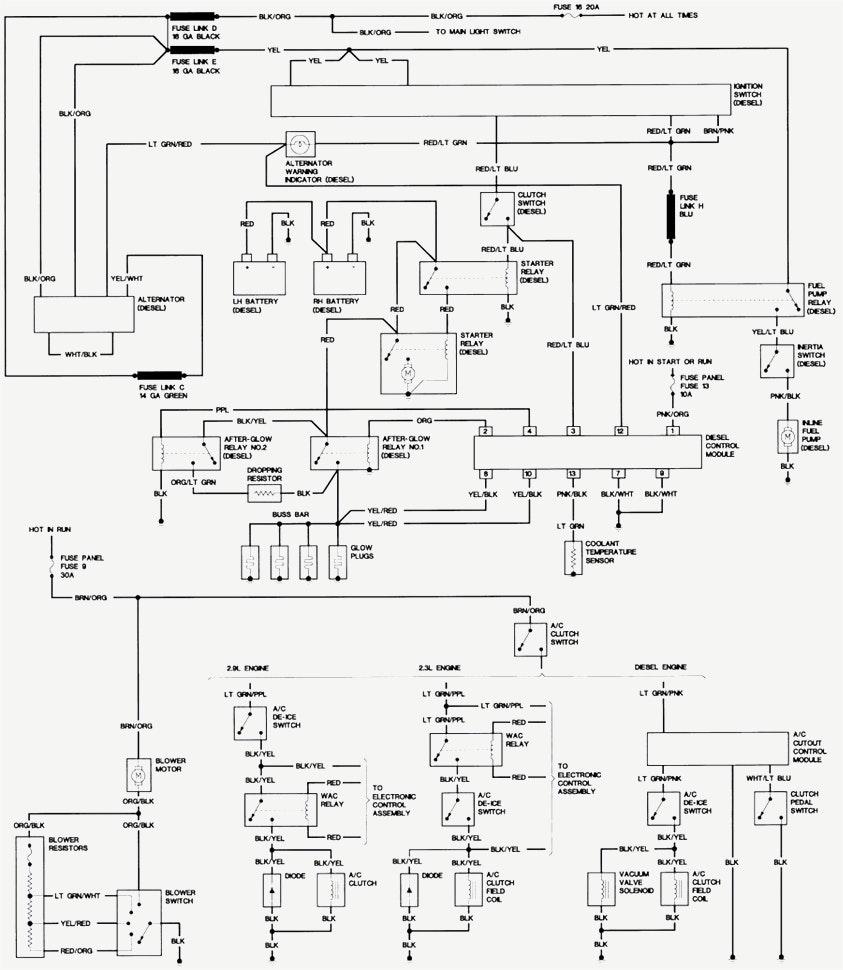 medium resolution of 843x970 free auto wiring diagram downloads