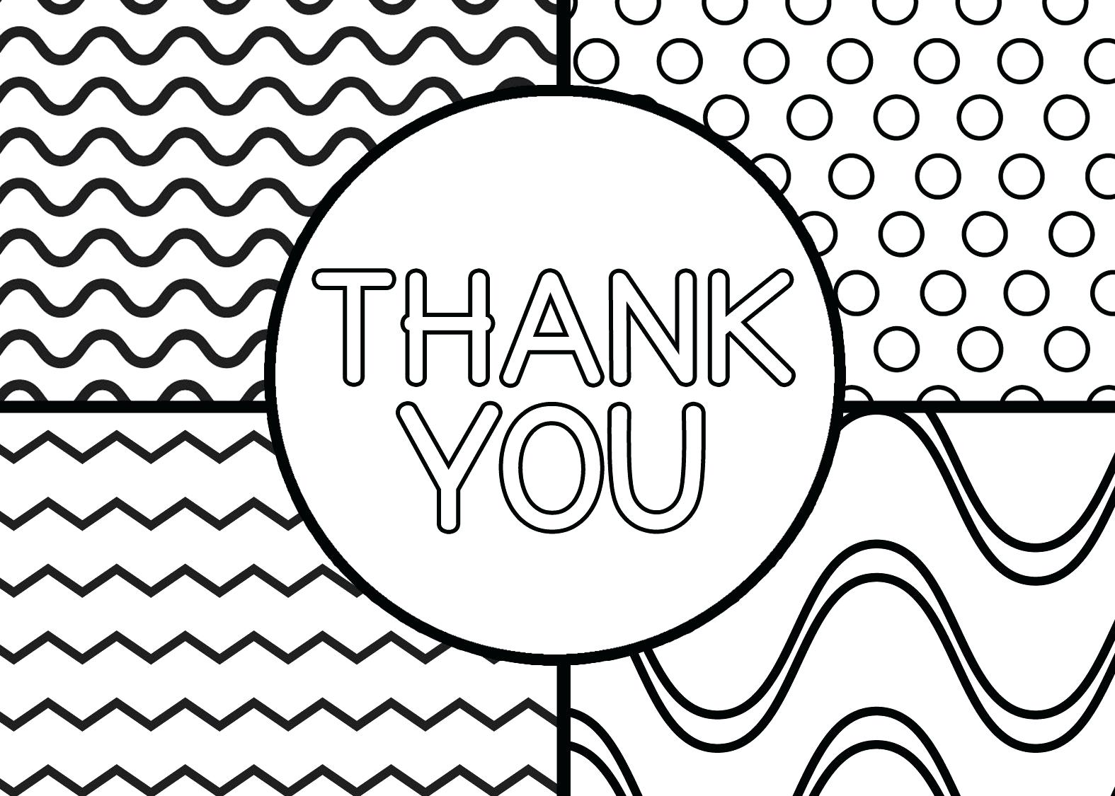 1575X1125 Template Thank You Card Template