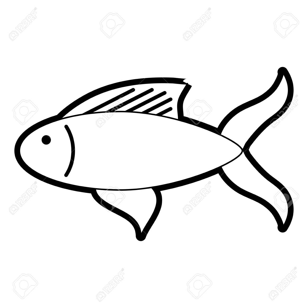 Fried Fish Drawing At Getdrawings