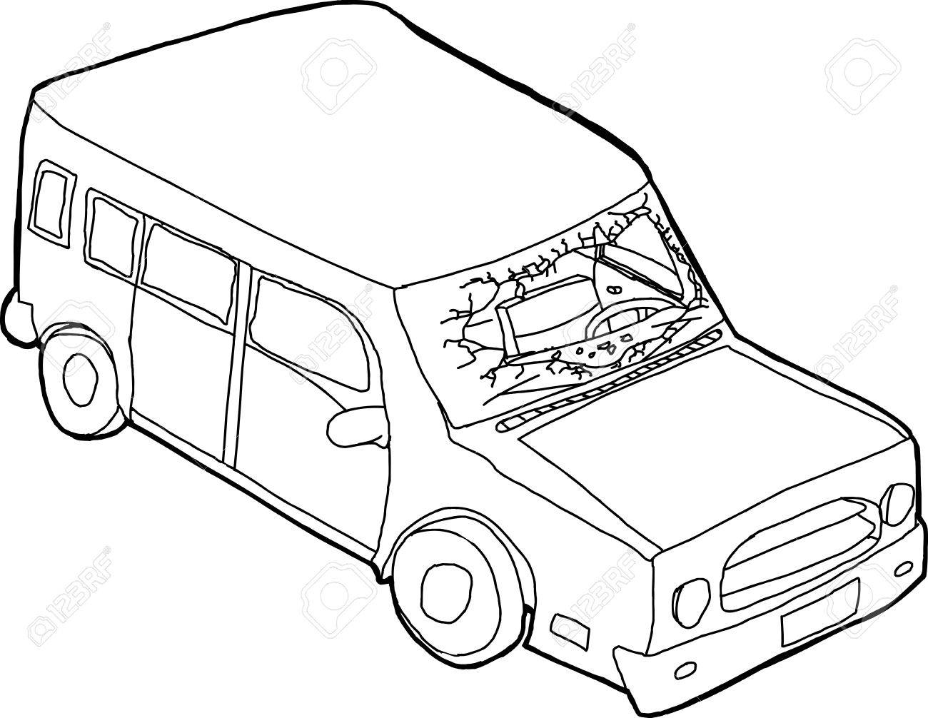 Front Of Car Drawing At Getdrawings