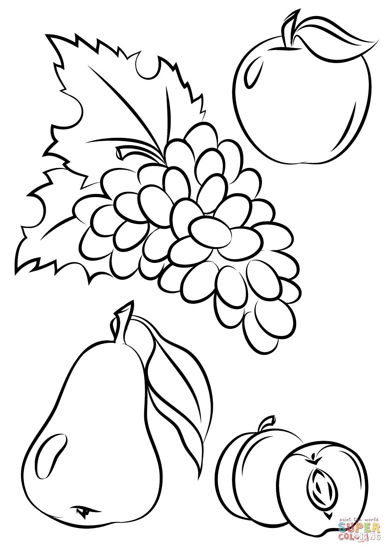 Fruits Drawing At Getdrawings