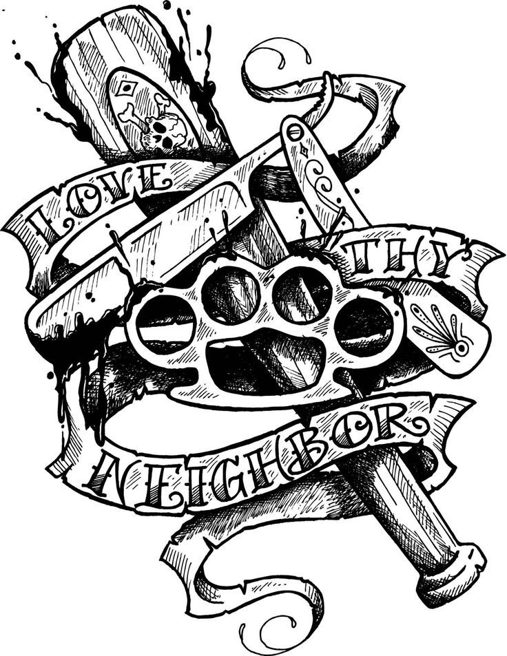 Gangster Cartoon Tattoo Designs : gangster, cartoon, tattoo, designs, Gangster, Cartoon, Drawing, GetDrawings, Download