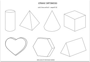 shapes geometric drawing shape 3d abstract dimensional worksheets painting basic figures geometry getdrawings worksheet drawings marshmallow paintingvalley grade 3rd 2nd