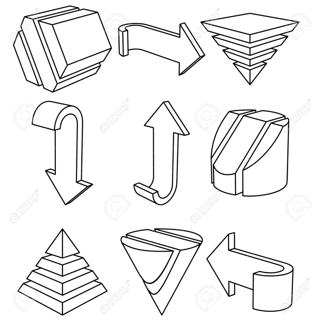 Geometric Shape Drawing At Getdrawings
