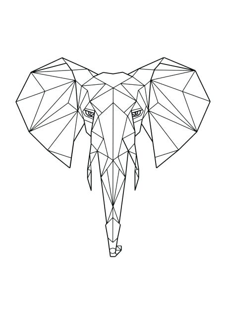 Geometric Shapes Drawing At Getdrawings Com