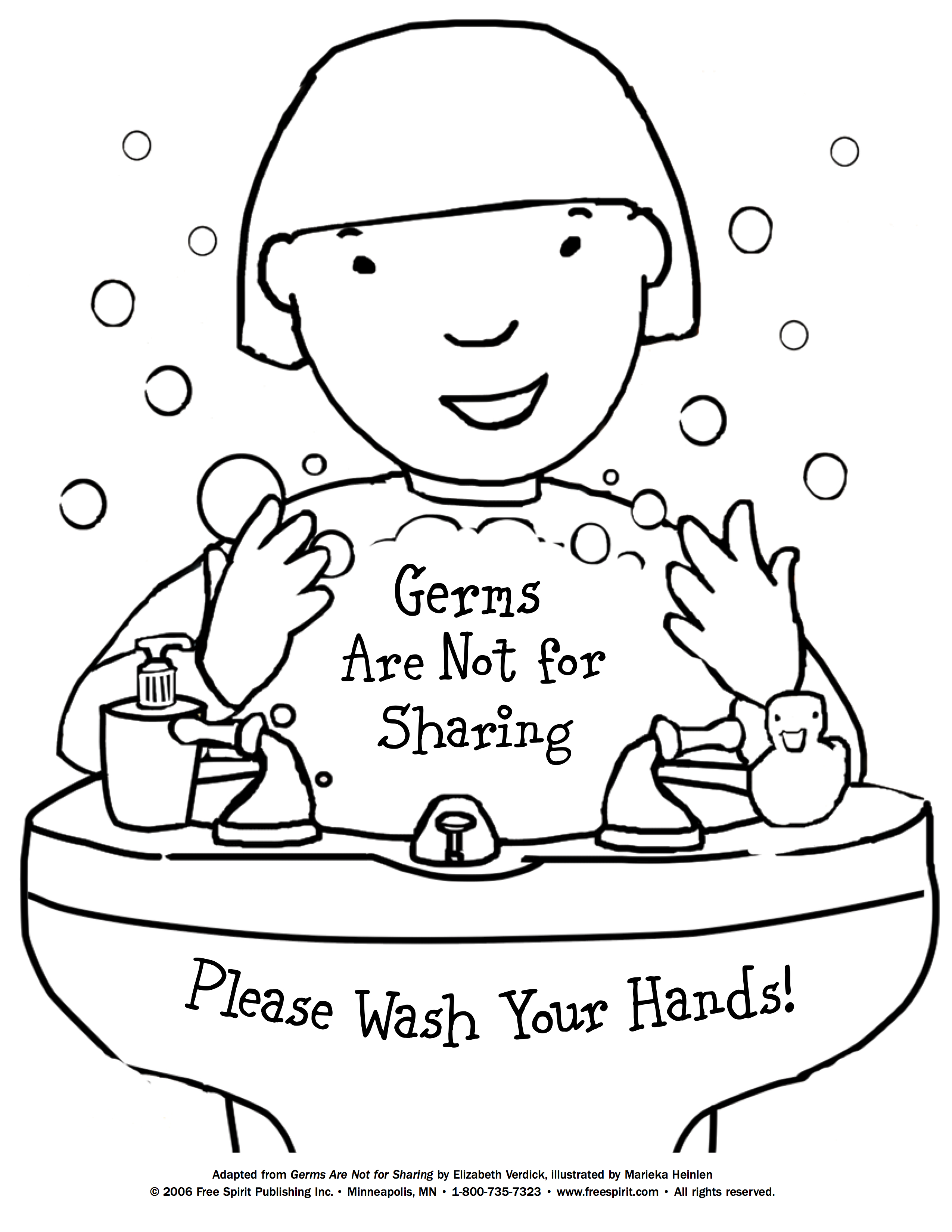 Germs Drawing At Getdrawings