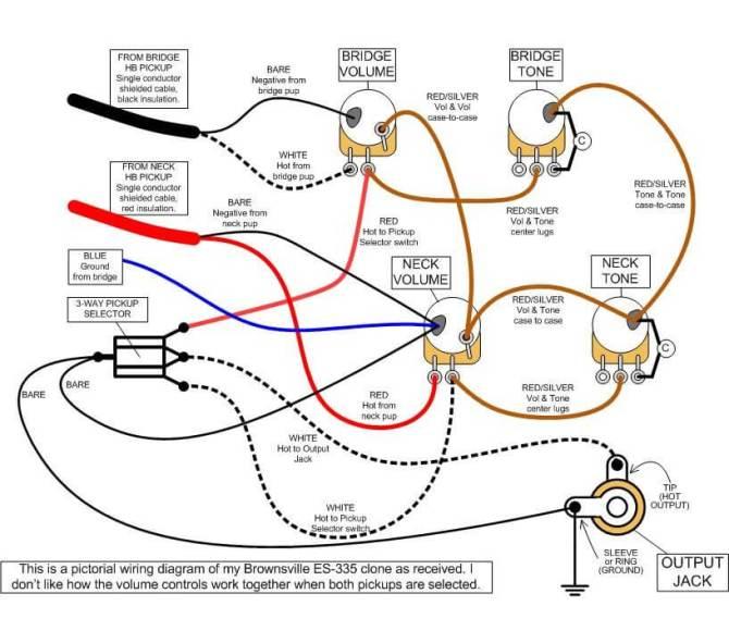 diagram wiring diagram les paul recording full version hd