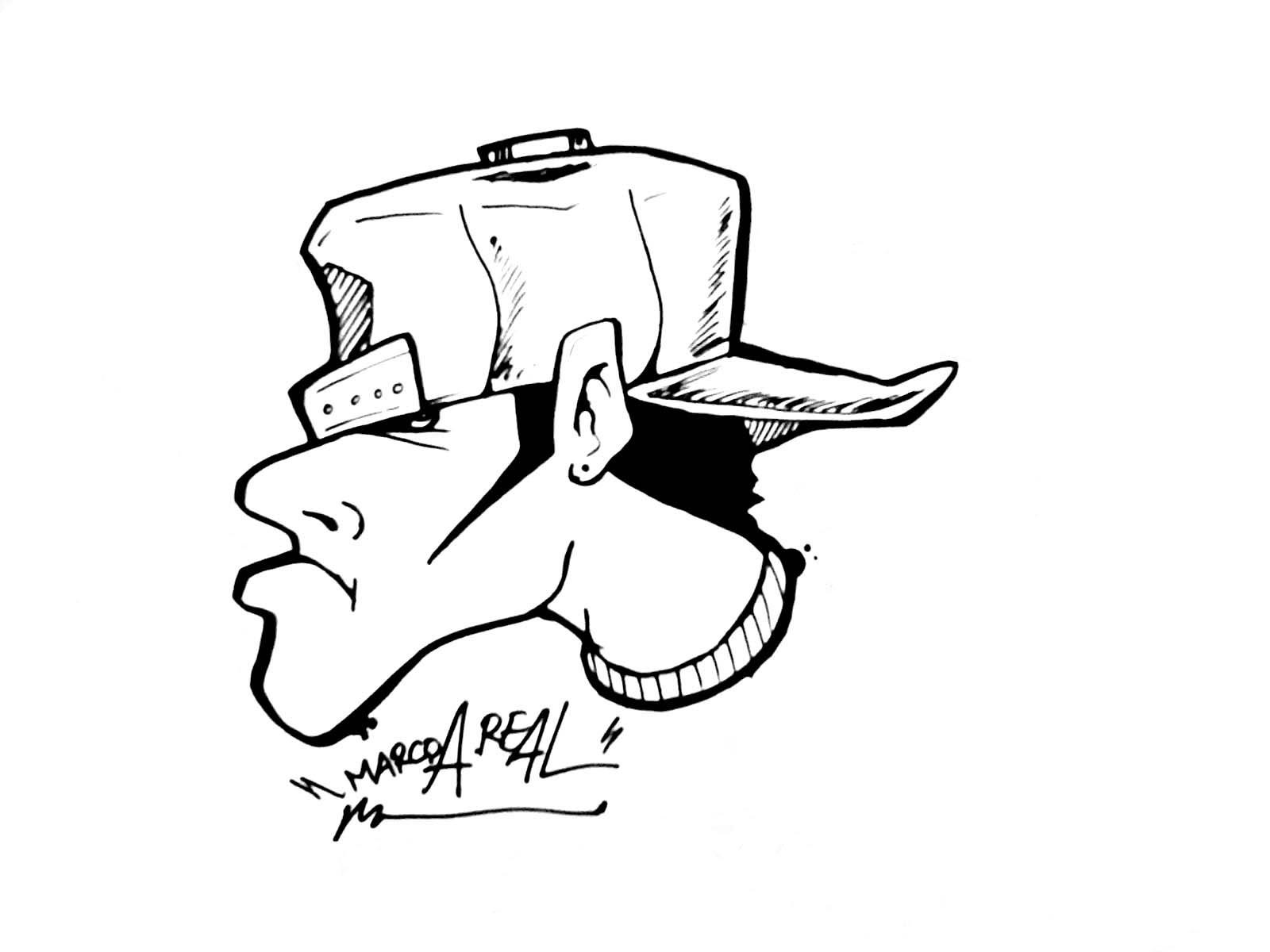 Nba Hop Drawings Hip Cartoon