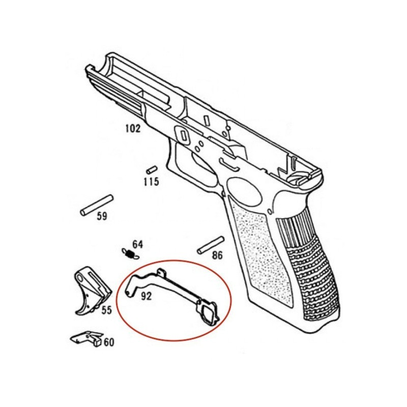 The best free Glock drawing images. Download from 51 free