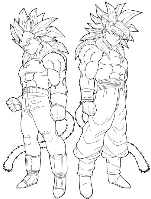 Goku Super Saiyan 2 Drawing At Getdrawings Com