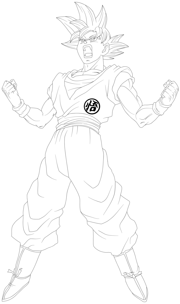 How To Draw Goku Super Saiyan 10000 : super, saiyan, 10000, Super, Saiyan, Drawing, GetDrawings, Download